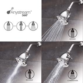 High flow shower head