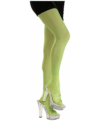 Lime Green Tights Costume Accessory One Size