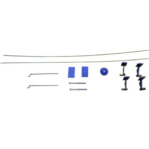 Skyangel Control Linkage Set for The T-33 Shooting Star 50mm EDF RC Jet, Black/Blue