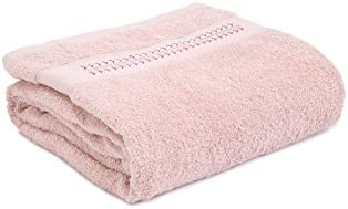 Nu Cover Arrow Embroidered Bath Towel 27quot x 54quot Pink Free Coin Purse 1 Pcs