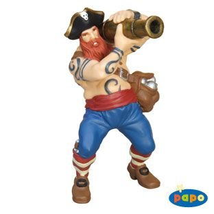 Papo 39439 Cannon Pirate Figure