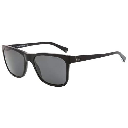 Emporio Armani 4002 501787 Black 4002 Wayfarer Sunglasses Lens Category 3