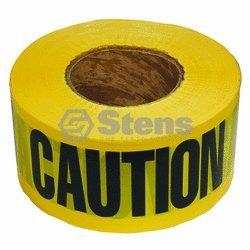 Barricade Caution Tape / 2 Mil. Black/Yellow