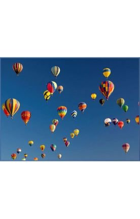 Concord Global 92369 Hot Air Balloons 4' 5