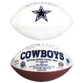 Dallas Cowboys Official Full-Size Autograph Football