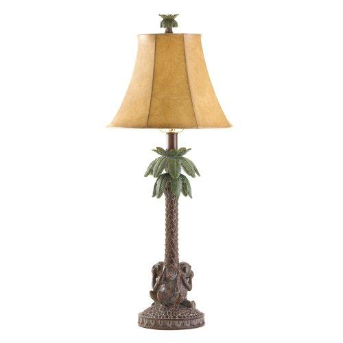 Monkeys Palm Tree Bahama Lamp Tropical Theme Electric front-702463