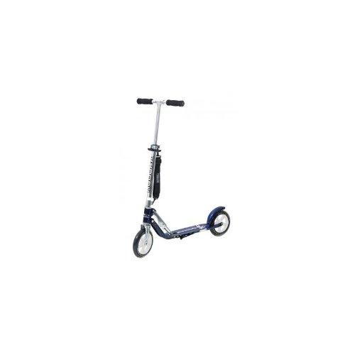 "City Scooter Big Wheel Hudora Alu 8"" LB205 schwarz/blau 205mm"