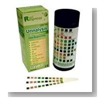 Rapid Response 10 Parameter (10SG) Urinalysis Reagent Test Strips, 100 Strips/Bottle