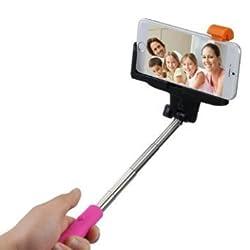 Selfie Stick Monopod Handheld Extendable Shutter Iphone Samsung Remote Bluetooth Wired Holder Phone Htc Smartphone 6 Wireless