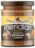 Meridian Peanut Butter Crunchy, Organic, No Salt 280g