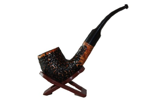 Old Army #12 Bent Stem Briar Tobacco Pipe By F.e.s.s