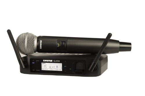 Shure Glxd24/B58 Digital Vocal Wireless System With Beta 58A Handheld Microphone, Z2