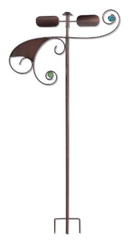 Sunset Vista Designs Hemi Spheres Wind Dancer Spinner, 55-Inch Tall