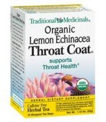 Organic Lemon Echinacea Throat Coat® 16 Bags
