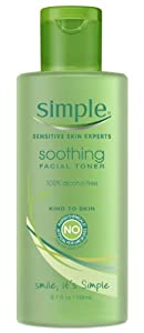 Simple Soothing Facial Toner, 6.7 Ounce