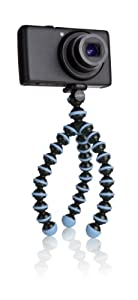JOBY JB01250-0EN GorillaPod Original - Flexible Camera Tripod for Point and Shoot Cameras - Sky Blue