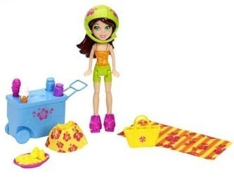 Polly Pocket Lea Doll Tropical Party Yacht by Mattel