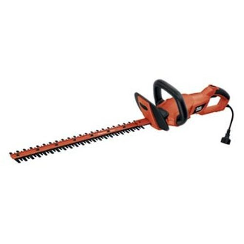Check Out This Black & Decker HH2455 24-Inch HedgeHog Hedge Trimmer With Rotating Handle And Dual Bl...