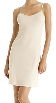 Calvin Klein Women's Solution Slips V-Neck Chemise   #D3129,Almond,Medium