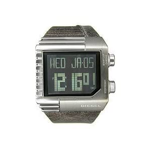 Diesel Digital Black Dial Men's Watch #DZ7180