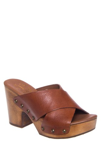 Kork-Ease Gabi High Heel Slip On Clog Sandal