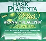 Hask Placenta Plus Henna 'n' Placenta with Olive Oil 57g/2oz