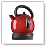 Black & Decker Dome Electric Kettle - Red