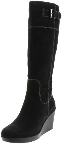 Cole Haan Women's Air Tali TA BT 85 WP Knee-High Boot,Black Suede,6.5 B US (Cole Haan Wedge Nike Air compare prices)