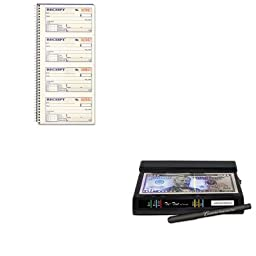 KITABFSC1152DRI351TRI - Value Kit - Dri-mark Tri Test Counterfeit Bill Detector (DRI351TRI) and CARDINAL BRANDS INC. Two-Part Rent Receipt Book (ABFSC1152)