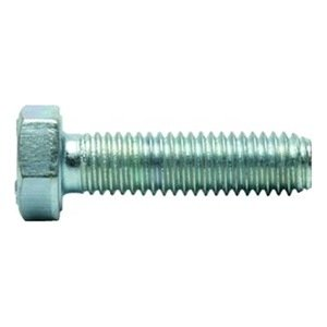 Qty 25 316 Stainless Steel Hex Cap Screw Bolt PT UNC 7//16-14 x 3-3//4