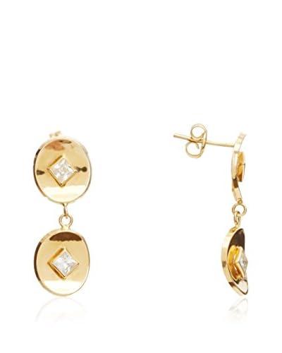 GOLD & DIAMONDS Pendientes Mayra AMARILLO