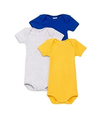 Petit Bateau Mc - Body - Manches courtes - Bébé garçon - Multicolore (Spécial99) - FR: 4 ans (Taille fabricant: 4ans/102cm)