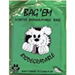 Bag Em Biodegradable Scented Dog Poo/...