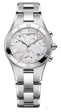 Baume & Mercier Women's MOA10012 Linea Chronograph Watch from Baume & Mercier