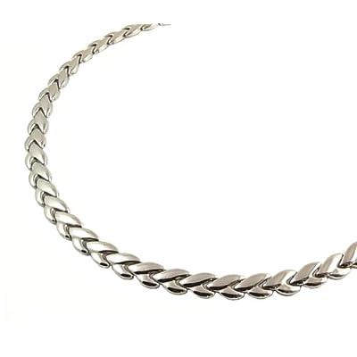 100粒 ゲルマニウムネックレス 健康ネックレス HW-14 リーフ  チタン製