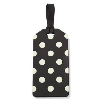 kate spade new york Luggage Tag - Black & Cream