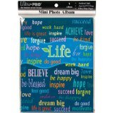 Ultra PRO 58202-R Mini Photo Album, 4 by 6-Inch, Life