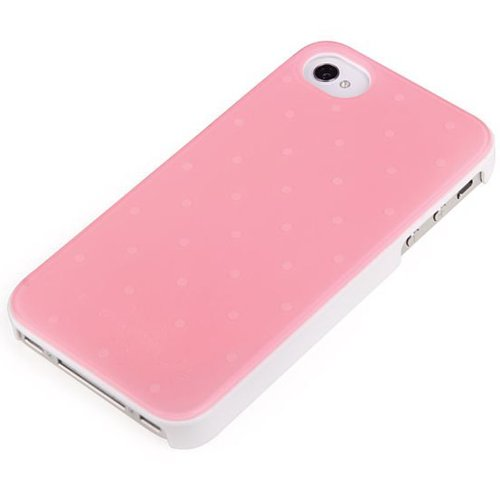 Lovely Blue Hard Protective Back Case Cover for iPhone 4 4S 4G Pink