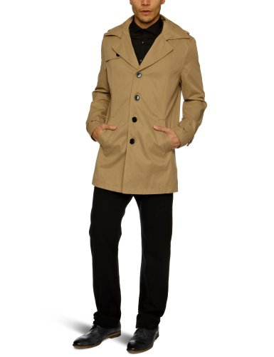 Selected Adams Trenchcoat Men's Jacket Sand Medium