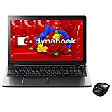 東芝 ノートパソコン dynabook T554/56LB(Microsoft Office Home and Business 2013搭載) PT55456LBXB