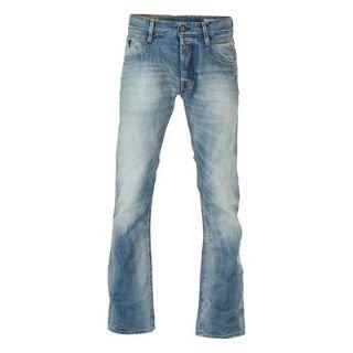 Replay Jimi Sunfaded Mens Jeans Light blue 34 L32
