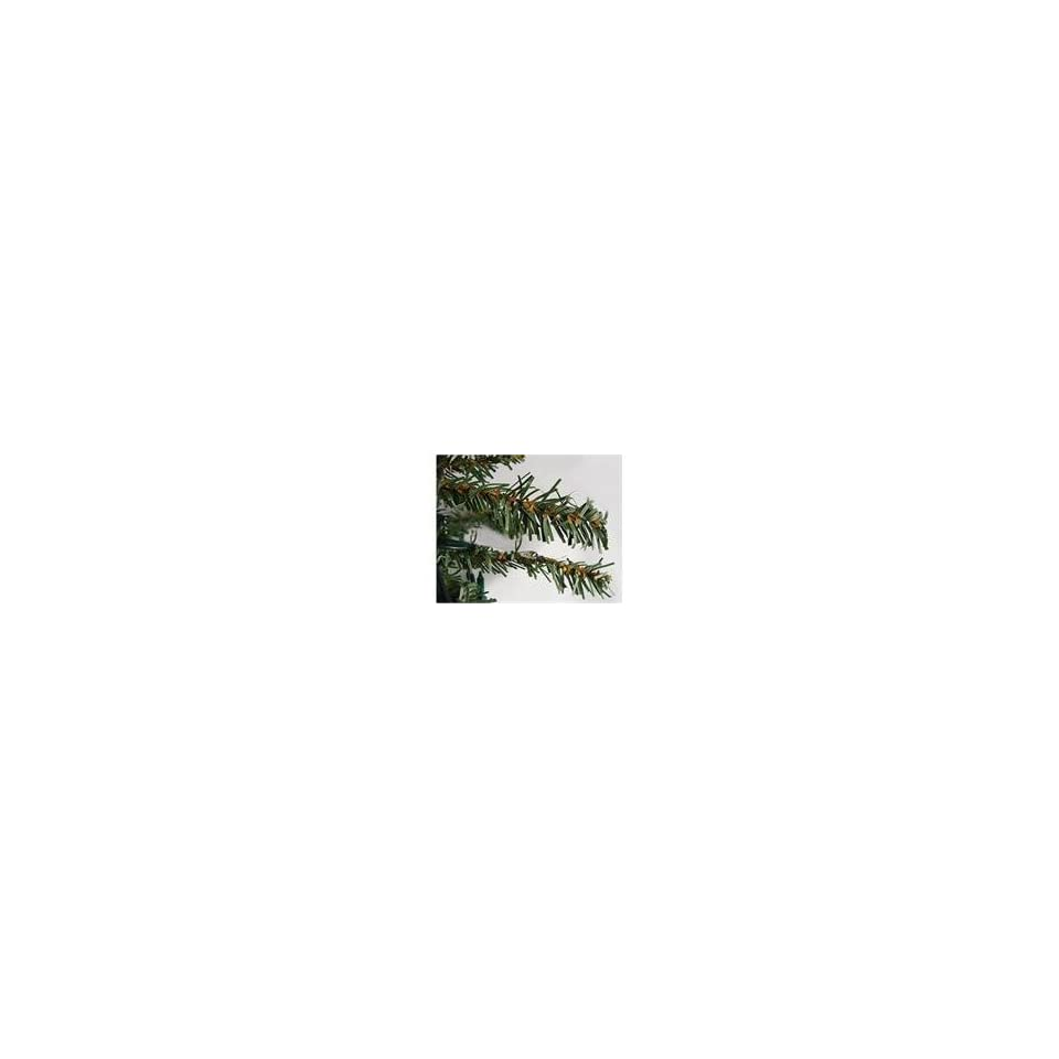 8 Pre Lit Natural Alpine Artificial Christmas Tree   Clear Ligh