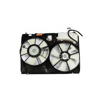 TYC 06 07 08  Ridgeline A//C Condenser Cooling Fan Motor Assy with Blade /& Shroud