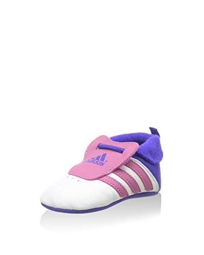 adidas Zapatillas Deportivas Relino Crib Blanco / Rosa
