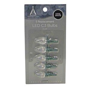 Noma/Inliten-Import 11223-88 C3 Led Bulb, 5-Pack