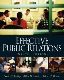 img - for Effective Public Relations 9th Edition by Cutlip, Scott M., Center, Allen H., Broom, Glen M. [Paperback] book / textbook / text book