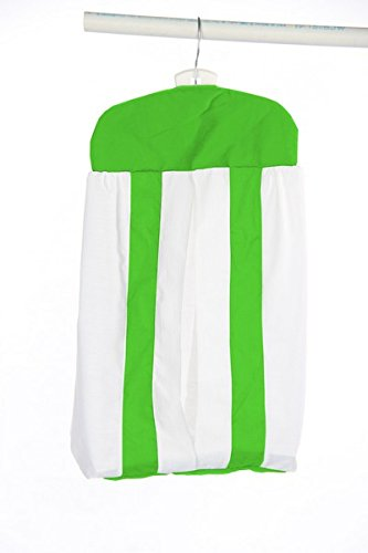 Baby Doll Modern Hotel Style Diaper Stacker, Green Apple