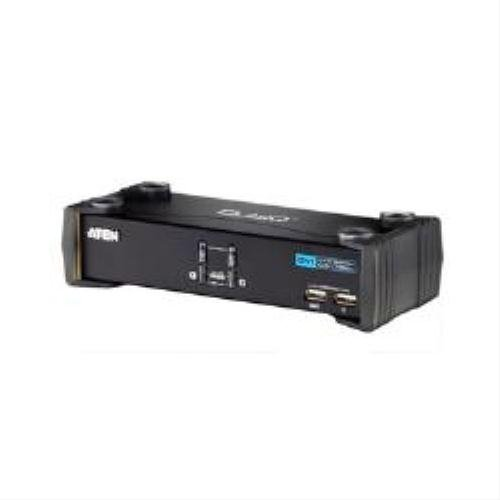 Aten Corp CS1762A 2 Port DVI-D KVMP with USB