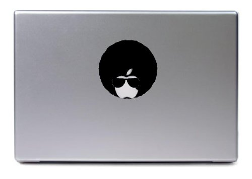 Laptop Mac - Apple Fro Macbook Funny Decal - Matte Black Skins Stickers