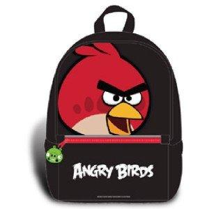 Angry Birds Rucksack Schwarz 32cm